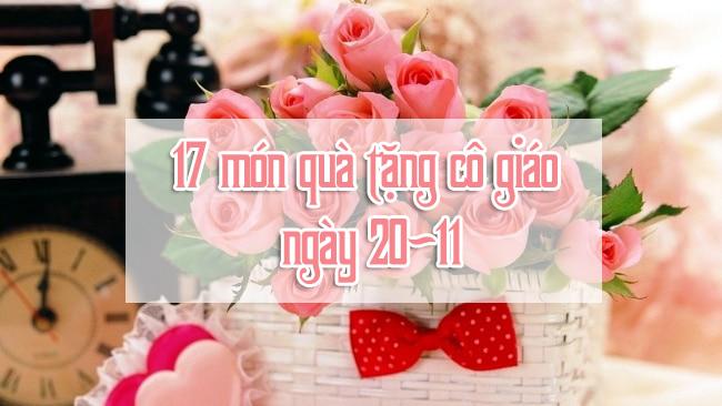 Quà tặng cô giáo ngày 20/11 | Vườn Cây Xinh
